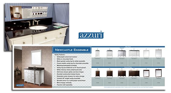 Azzuri In-Store Signage
