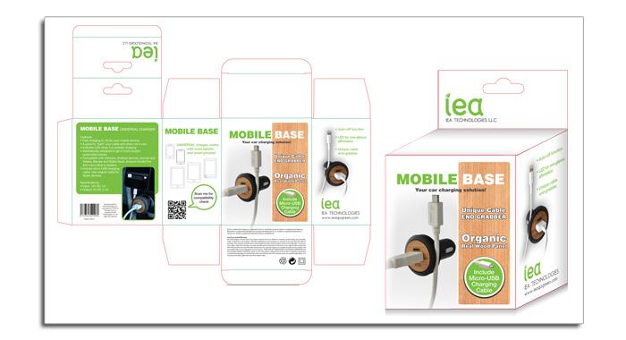 iea - Car Charger Digital Mock-up