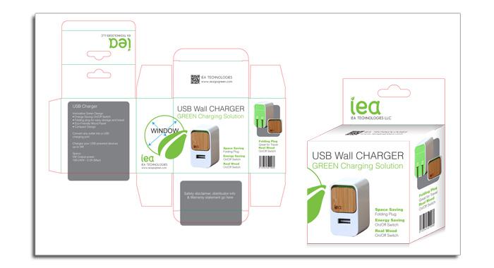iea - Wall Charger Digital Mock-up