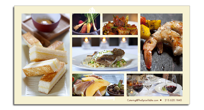 Catering eBrochure - Pictures Spread